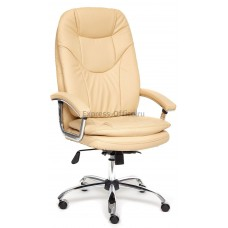 Кресло SOFTI LUX (кож/зам, бежевый, 36-34)