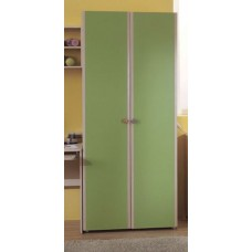 5.10 Шкаф для одежды 2-х дверный (шимо светлый, салатовый)