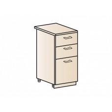 Шкаф нижний с 3-мя ящиками 400, ШН3Я 400