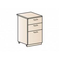 Шкаф нижний с 3-мя ящиками 500, ШН3Я 500