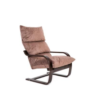 Кресло Онега , ткань Капучино, каркас венге