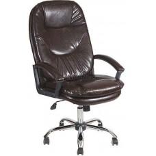 Офисное кресло AV 121 PL МК Экокожа черная