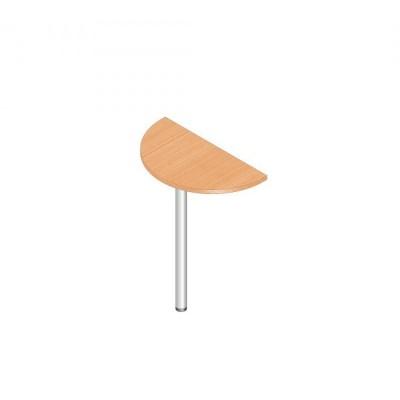 К-1р Стол-приставка полукруг