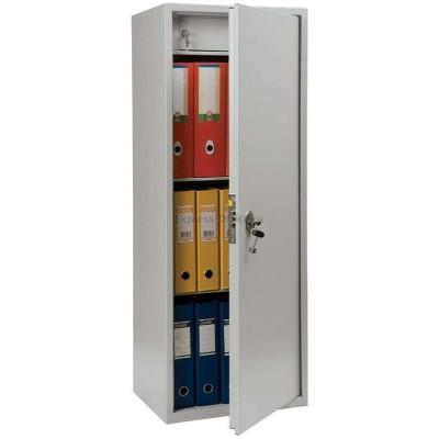 Бухгалтерский шкаф Практик SL-125Т оттенок серого 460*340*1252