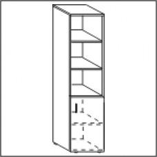 Шкаф узкий ЛФ220