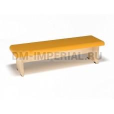 Банкетка мягкая (каркас бук, 4 места)