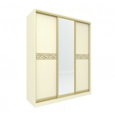 Шкаф-купе для одежды Ливадия Л11а  (Weave светлый)