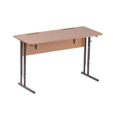 Стол ученический регулируемый по высоте и наклону крышки СУР ТР.02.xx