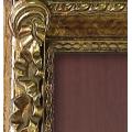 Гладильная доска-купе BELSI Рома Регале (античное золото, вправо)
