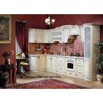 Кухня Мадлен комплект угловая